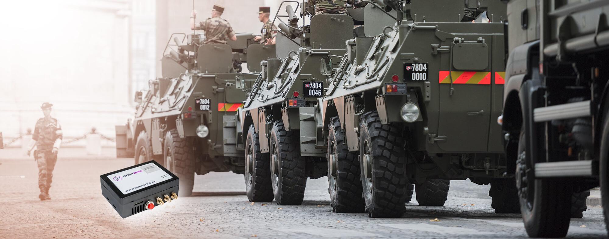 Véhicules militaires